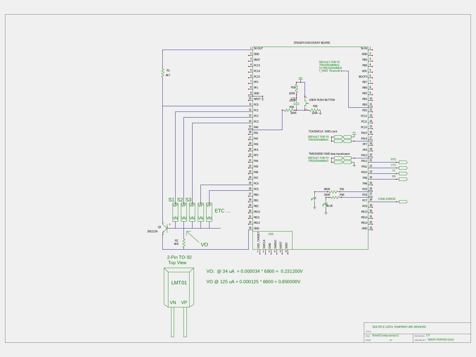 Project: LMT01 Temperature Sensor — Mecrisp Stellaris Unofficial 1 0